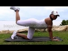 Beautiful buttocks - Workout 1 - Free lessons - Gym in home