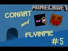 Minecraft: Tom and Jerry: Jerry's Adventure W/ Conart&Flyinpie Ep.5: Creative Mode Is Cheating!