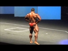Roelly Winklaar free poses routine at Arnold Classic Europe 2013