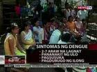 QRT: Mga sintomas ng dengue
