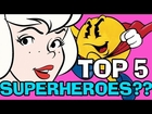 SABRINA the Teenage SUPERHERO? Top 5 Cartoon Remakes as Superheroes - Saturday Morning BlackNerd