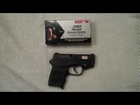 S&W Bodyguard 380 with Aguila Ammunition and a Universal Brass Catcher