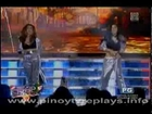 Maja Salvador and Shaina Magdayao dancing Jenny from the block by J.LO