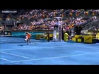 Nadal's Hot Shot Volley In Madrid