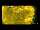 Solar flare could disrupt Earth communications