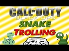 Funny Snake Trolling With FreeVelocity! - Trolling On COD Black Ops