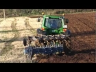 John Deere 7530 Ploughing
