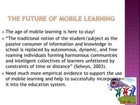How Mobile Technology Plays An Important Role On Online Education