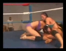 Christie Vs Frankie Female Wrestling clip.