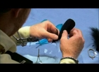 How to Make the Blue Meanie Fishing Fly Part 5/7
