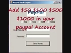 New Paypal hack 2010