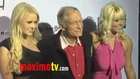 Hugh Hefner and Anna Sophia Berglund at