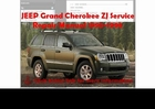 Jeep Grand Cherokee ZJ 1993-1998 Workshop Service Manual Download